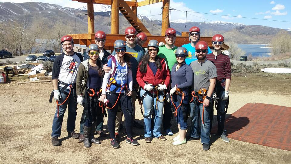 Group Ziplining